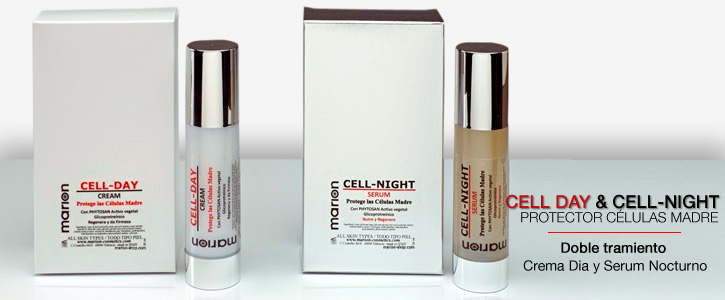 Tratamiento Cell Day & Cell Night, Protector de células madre